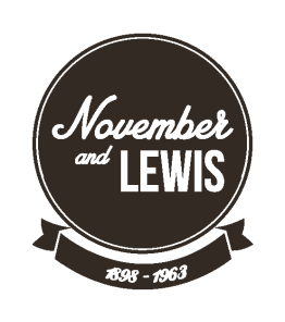 LOGO November and lewis copia