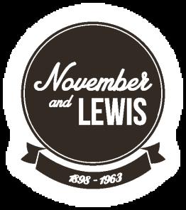 LOGO November and lewis copia